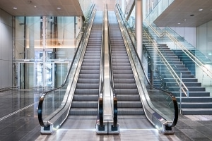 Technische Gebäudeausrüstung: Rolltreppen